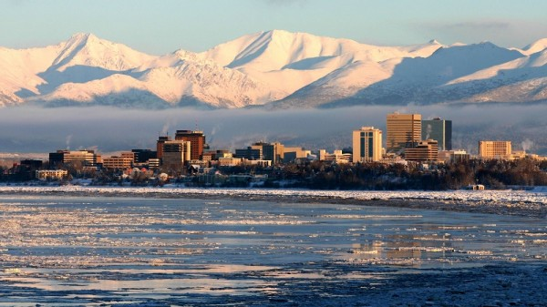 Anchorage, Alaska (Pic: Frank K. [CC BY 2.0 (http://creativecommons.org/licenses/by/2.0)], via Wikimedia Commons))