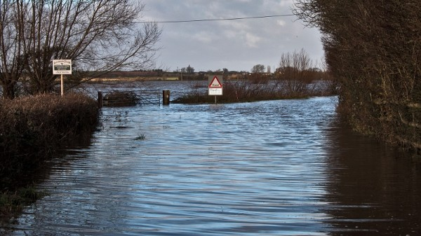 The Somerset Levels are prone to flooding, but is climate change making extreme weather more frequent? (Flickr/Mark Robinson)