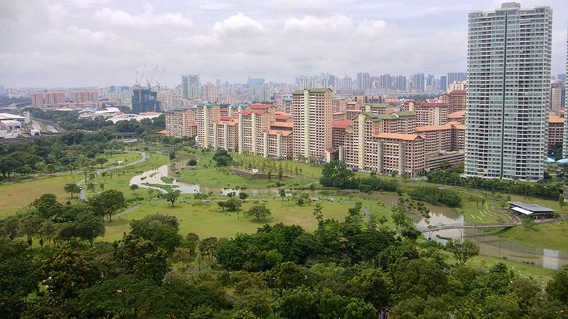 High-density living leaves more space for nature, ecomodernists argue (Flickr/ Jimmy Tan)