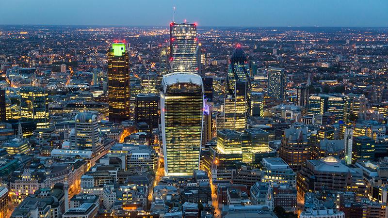 London's Square Mile (Flickr/ Michael Garnett)