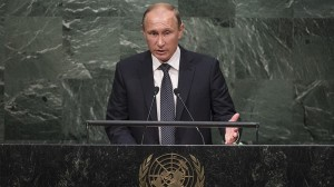 At UN, Putin bids to sponsor climate forum