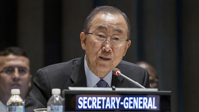 High-level Event: on Climate Change.