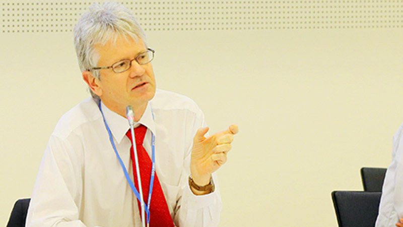 Harald Winkler, South African delegate at UN talks and professor at University of Cape Town (Pic: IISD)