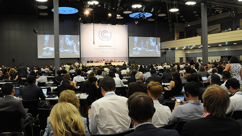 Negotiators at the interim round of climate talks in Bonn (Pic: UNFCCC/Flickr)
