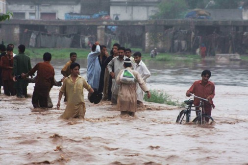 Pakistan suffered intense floods in 2010, 2014 and 2015 (Flickr/US Institute of Peace/Shabbir Hussain Imam)