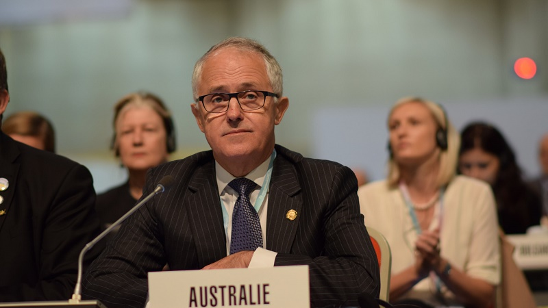 Malcolm Turnbull seized Australia's leadership last month, but is not changing climate policy (Flickr/Veni)