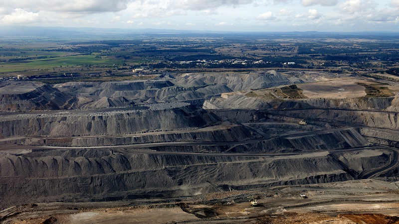 Opencast coal mine in Hunter Valley, New South Wales (Flickr/Max Phillips)