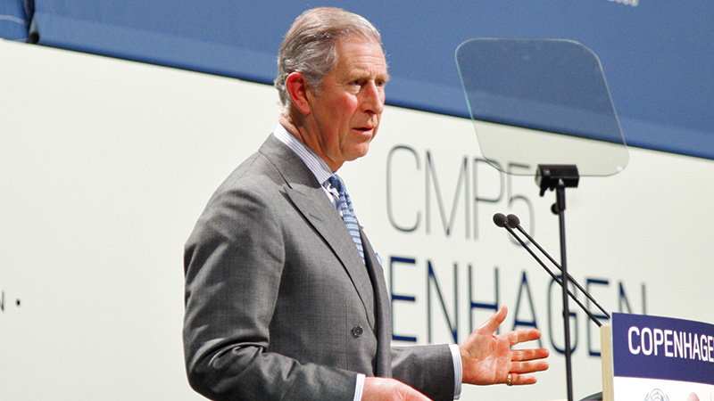 Prince Charles spoke at the 2009 Copenhagen climate summit (Pic: UN photos)