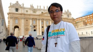 Yeb Sano heads for Paris, praying for a climate miracle