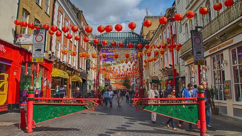 London's Chinatown (Flickr/Eustaquio Santimano)