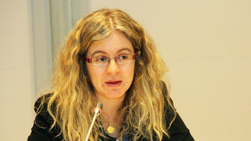 Green Climate Fund chief Hela Cheikhrouhou (Pic: IISD)