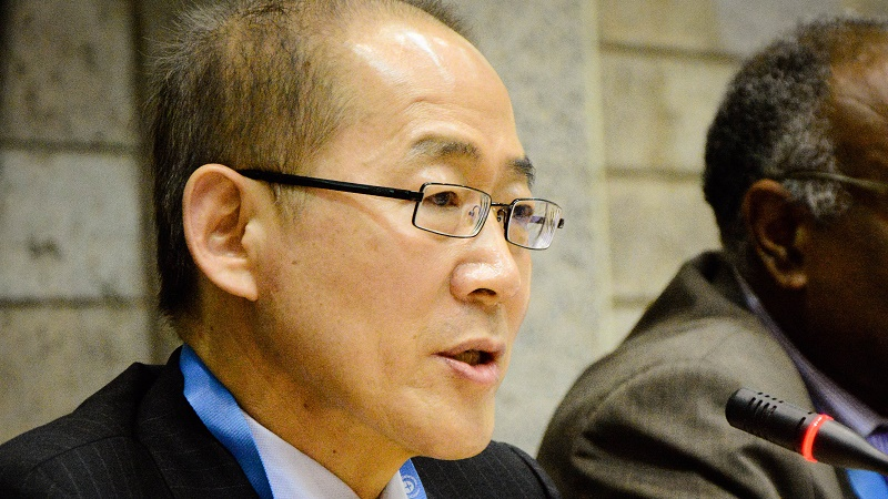 Hoesung Lee is the newly elected chair of the IPCC (Pic: IISD)