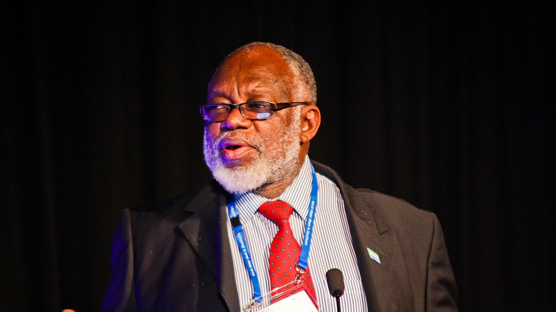 Sierra Leone has nominated Ogunlade Davidson for top climate science job (Flickr/Global Water Partnership)