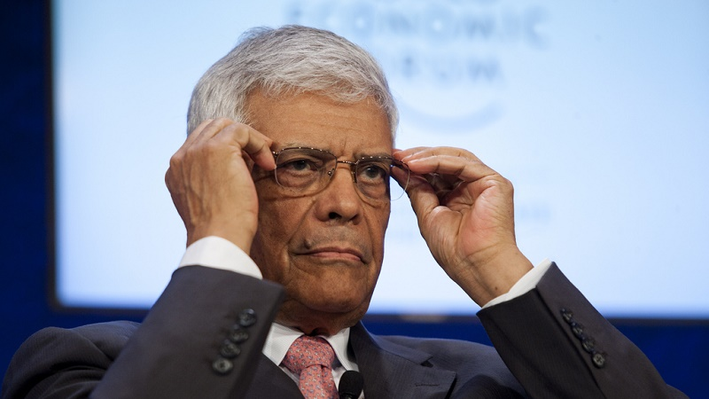 Abdalla Salem El Badri heads up OPEC, which coordinates to influence oil prices (Pic: World Economic Forum/Benedikt Loebell)