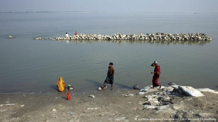 Coastal and river erosion is a major problem in Bangladesh