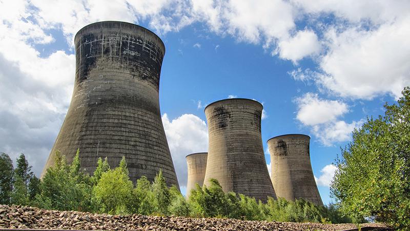 (Flickr/ Tom Blackwell) Follow Thorpe Marsh: Abandoned Power Station