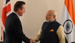 Modi, Cameron to discuss climate change during UK visit