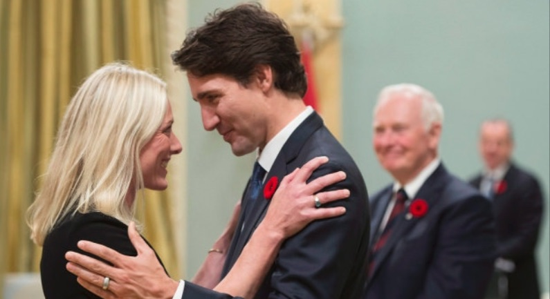 Environment minister Catherine McKenna and prime minister Justin Trudeau (Pic: Environment Canada/Flickr)