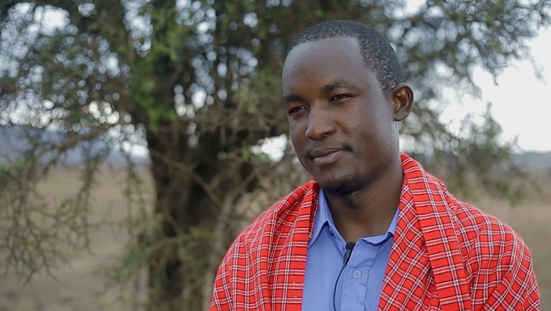 Raised by pastoralists and armed with a law degree, Ekai Nabenyo wants to take on polluters (Pic: John Wambugu)