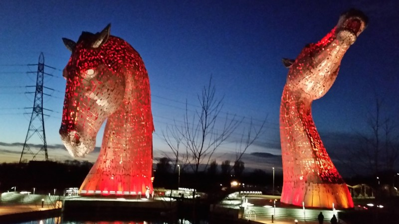 """The Kelpies are going to get Algy Cluff and Jim Ratcliffe if they are not careful. They are the spirits of our land and they will smite our enemies."" (Pic: Photography by Michel/Flickr)"