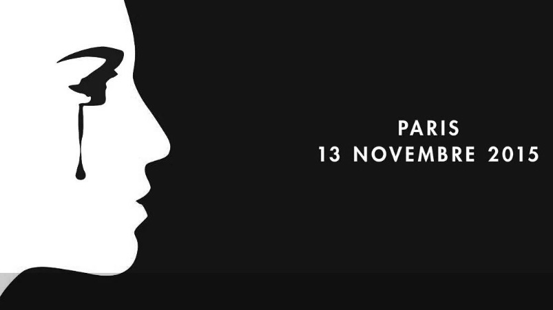 The official French government climate summit website carries this image to commemorate the attacks (Pic: France Diplomatie)