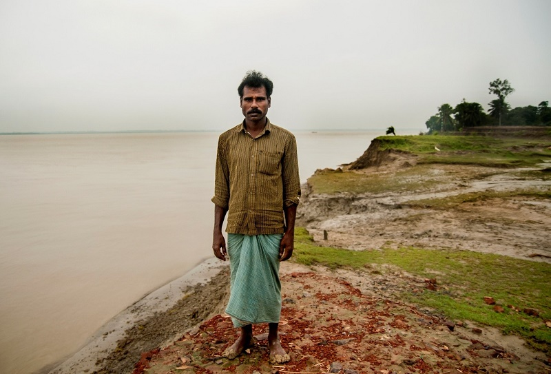 Vishnu Poda Routh believes his native island will go under water within ten years