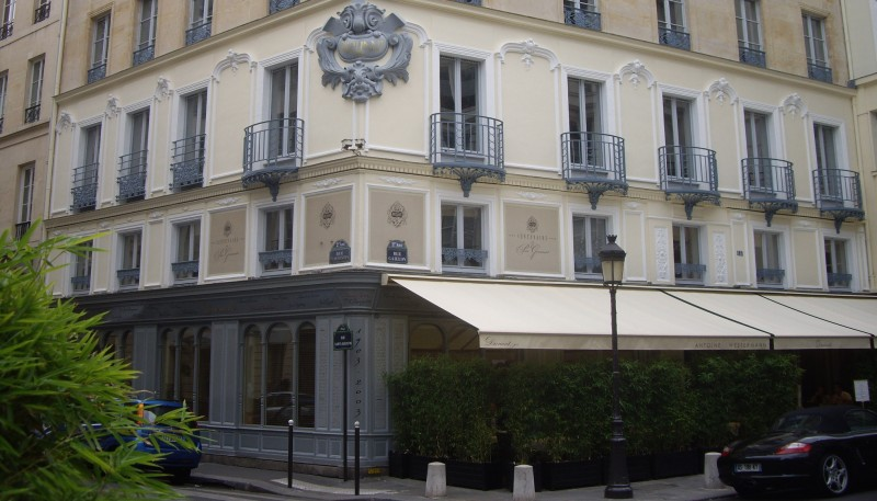 The Dormant restaurant in central Paris, where plans for a new 'coalition for ambition' came to fruition (Pic: Flickr)
