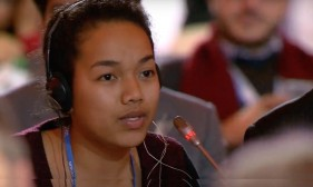 Marshall Islands 18-year-old thanks UN for climate pact