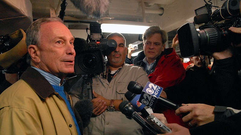 Former New York mayor and financial data baron Michael Bloomberg is leading a climate risk task force (Pic: US Navy)