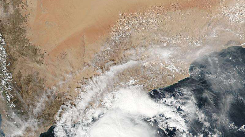 On Nov. 9 at 10:05 UTC (5:05 a.m. EST), the VIIRS instrument aboard NASA-NOAA's Suomi NPP satellite captured a visible image of an elongated Tropical Cyclone Megh in the Gulf of Aden, Arabian Sea. Credit: NASA/NOAA, Jeff Schmaltz Read more at: http://phys.org/news/2015-11-nasa-elongated-tropical-cyclone-megh.html#jCp