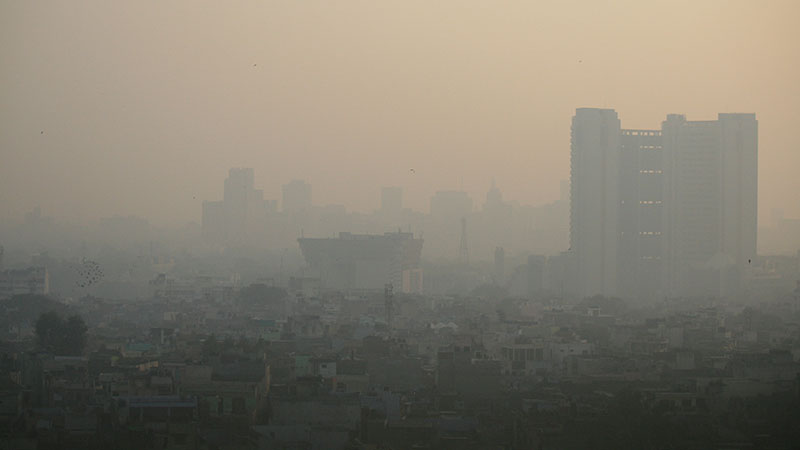 The WHO says the air in Delhi is the most polluted for any city on the planet, responsible for up to 30,000 deaths a year (Pic: Jean-Etienne-Minh-Duy-Poirrier)