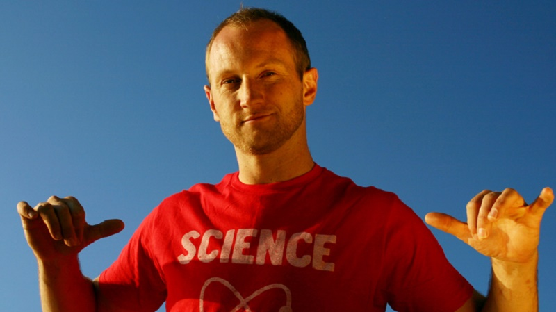 Baba Brinkman fuses science and hip hop (Pic: Baba Brinkman)