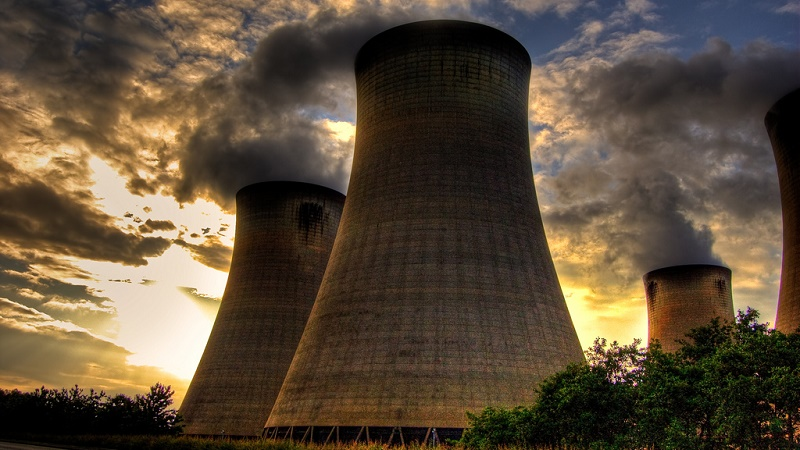 Drax power station, Yorkshire, was to be the site of a coal-fired carbon capture trial project (Flickr/Jonathan Brennan)