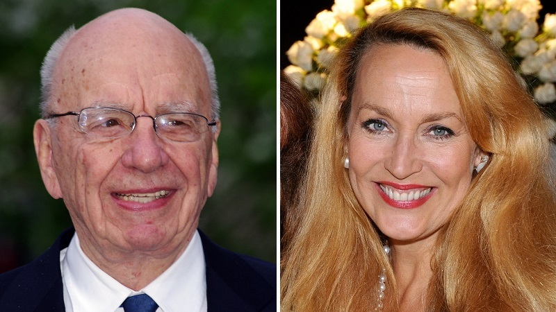Rupert Murdoch and Jerry Hall have got engaged (Pics: Wikimedia Commons/David Shankbone, Hohum)