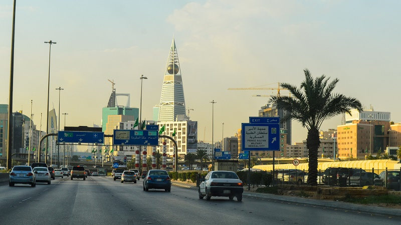 A highway in Riyadh (Flickr/Francisco Anzola)