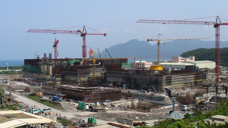 "Known as ""nuke 4"", Lungmen plant has cost US$10 billion to build, but its future is uncertain (Pic: Wikimedia Commons)"