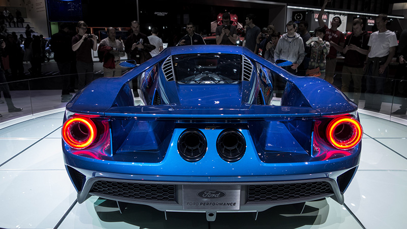 Ford's new  £250,000 GT supercar (Pic: Falcon Photos/Flickr)
