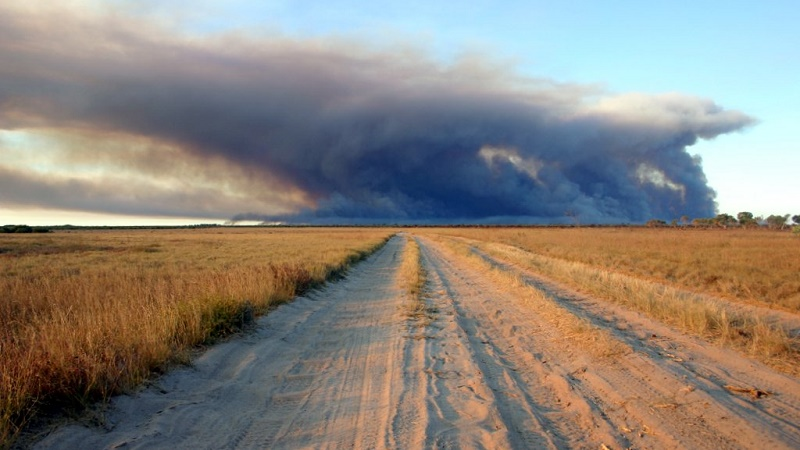 A bush fire in Western Australia (Flickr/Shek Graham)