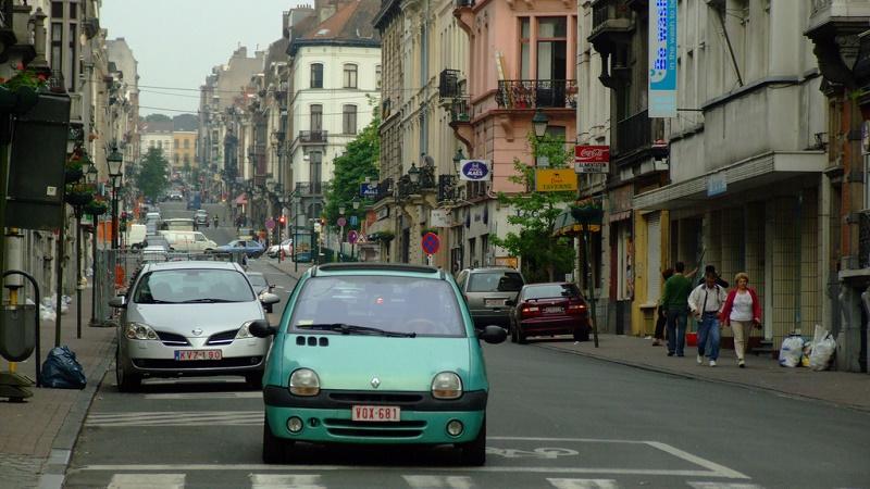 Traffic in Brussels (Flickr/Jerzy Kociatkiewicz)