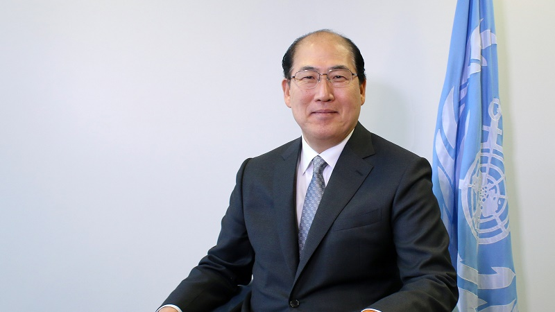 Kitack Lim took the top IMO job on 1 January (Pic: International Maritime Organization)