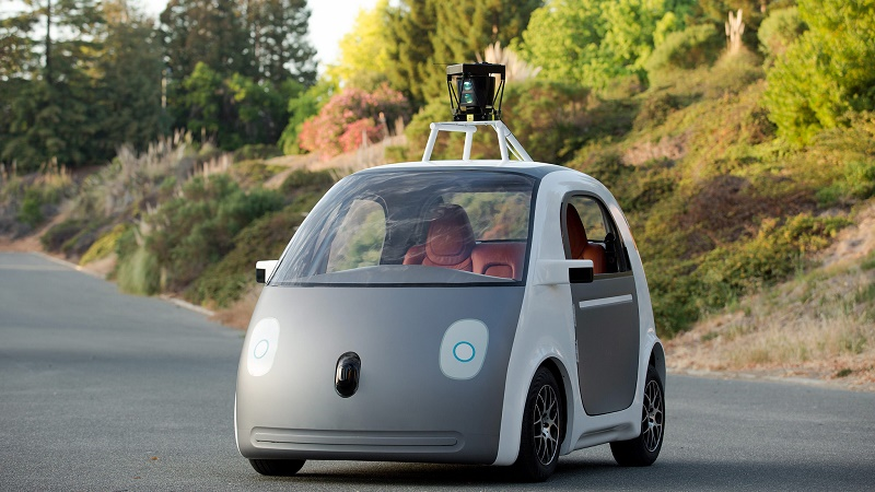 A Google prototype self-driving car (Flickr/smoothgroover22)