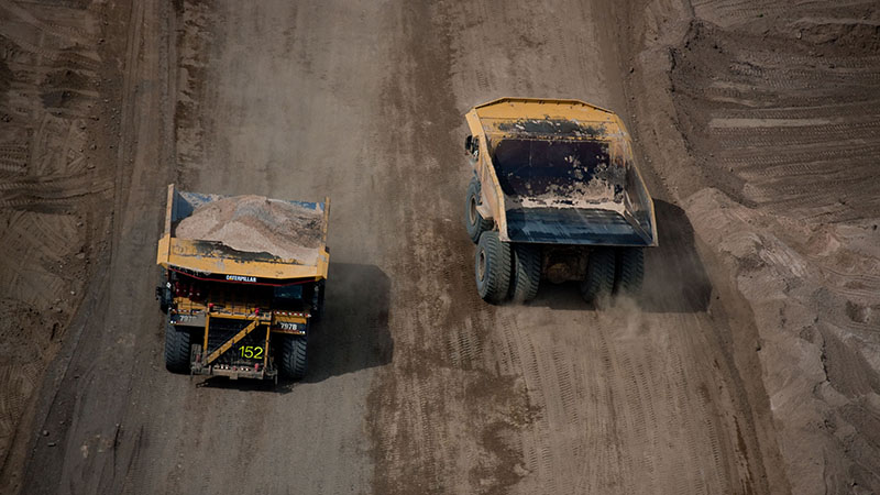 Aerial shot of Athabasca oil sands in 2009 (Flickr Shell)