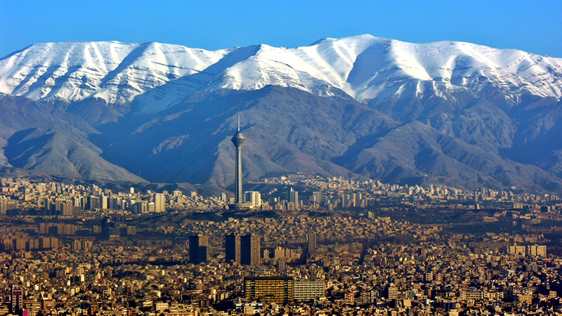 Iran's capital Tehran (Flickr/ Peyman Abkhezr)