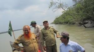 Loaded coal barge sinks in Sundarbans mangroves