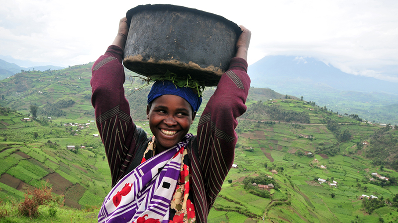 Pic by Neil Palmer (CIAT). Faces of southwestern Uganda.
