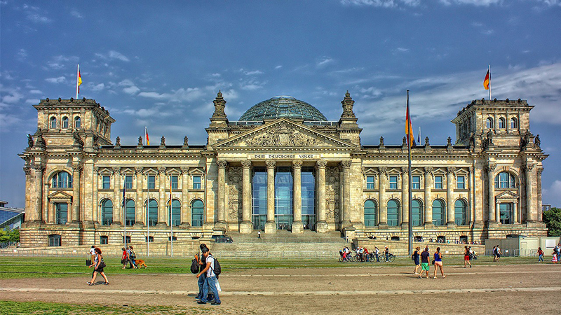 Germany's Reichstag parliament (credit: Pixabay)