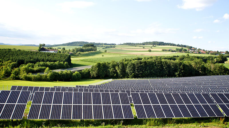 A solar farm in Bavaria, Germany (Flickr/ Windwärts Energie)