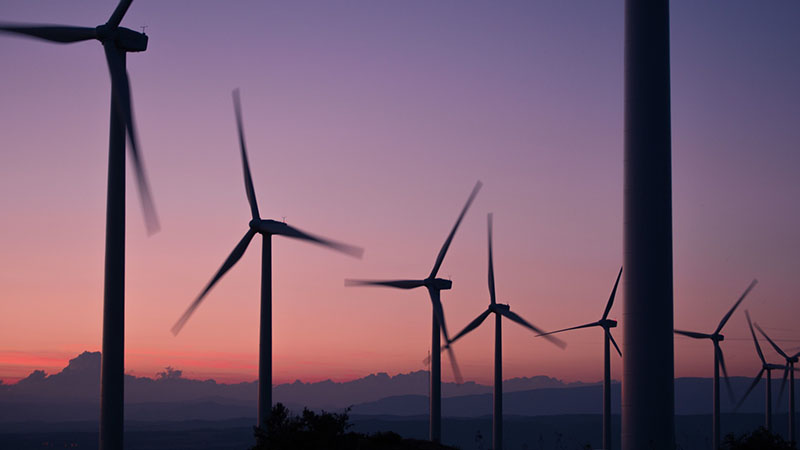 Renewables, especially wind, played a 'critical role' in the emissions stall says the Paris-based IEA (credit: Pixabay)