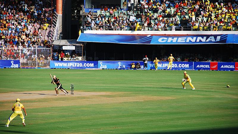 Drought Stumps Indian Cricket League