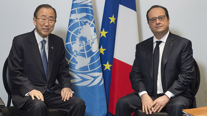 Ban Ki-moon has invited all world leaders to attend the 22 April signing ceremony of the Paris Agreement (Pic: UN Photo/Eskinder Debebe)